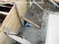 concrete step forms