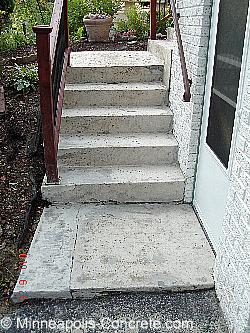 before concrete overlay