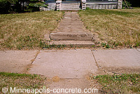 concrete steps repair