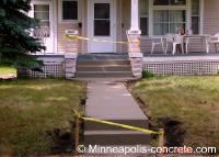 concrete steps repair