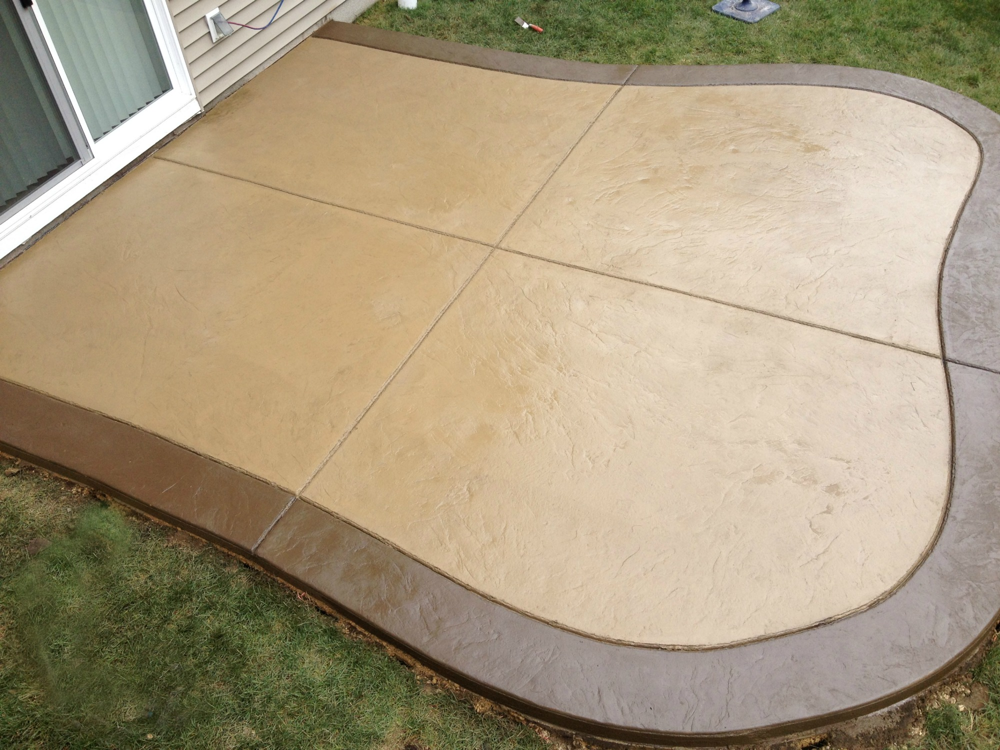 Superieur Stamped Concrete Patio