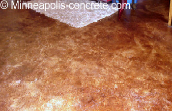 stained and stamped concrete
