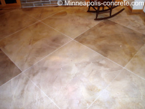 decorative concrete stains
