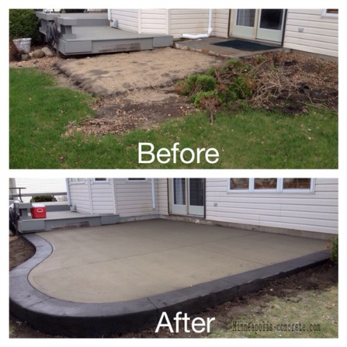 Patio Ideas With Existing Concrete Slab: Patio Ideas